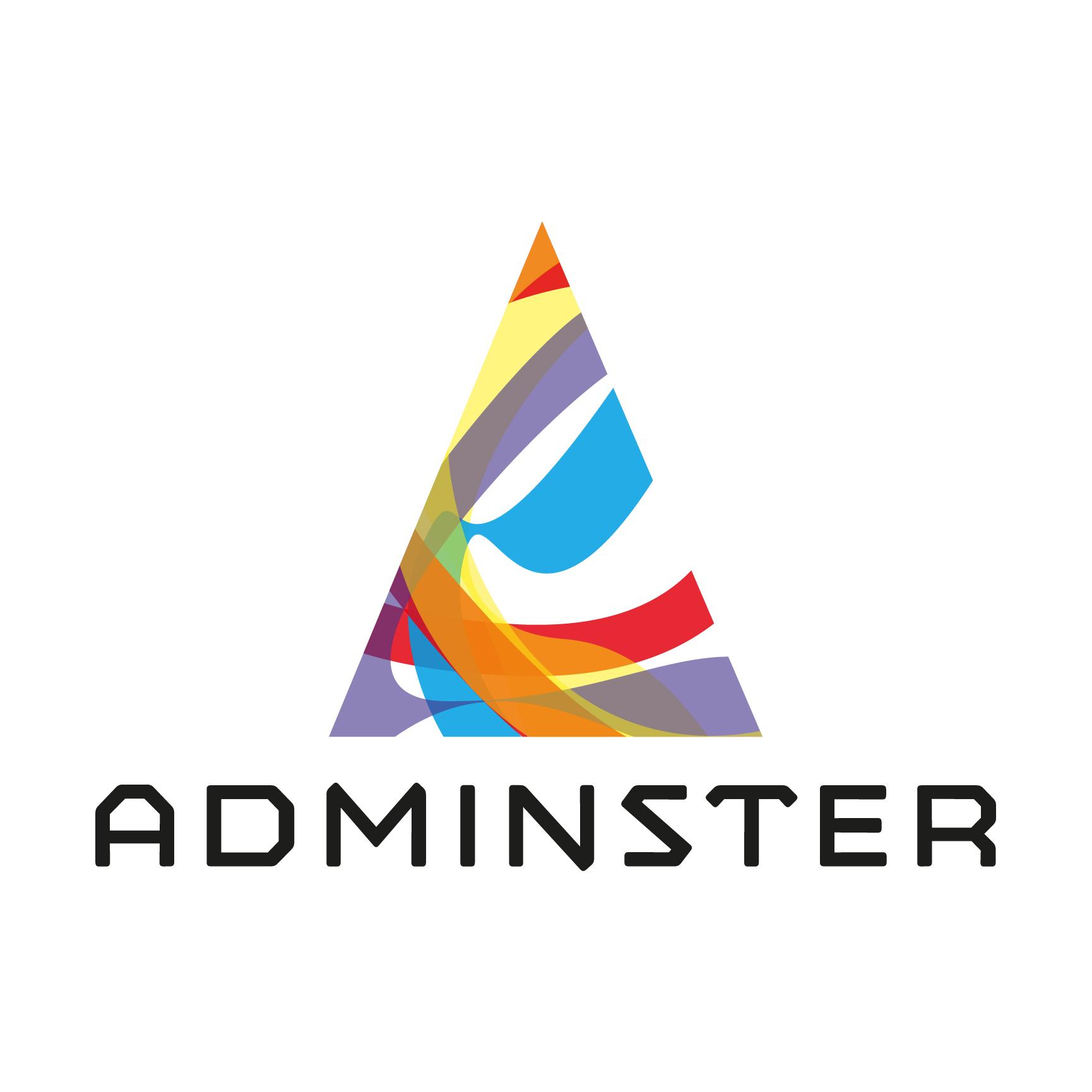 ADMINSTER creative agency logo