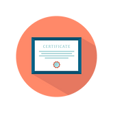 Image of a certificate