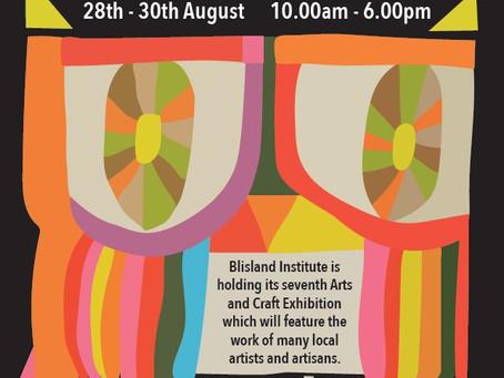 Arts & Craft exhibition 28th - 30th Aug
