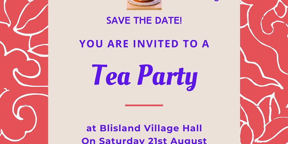 Village Hall Tea Party