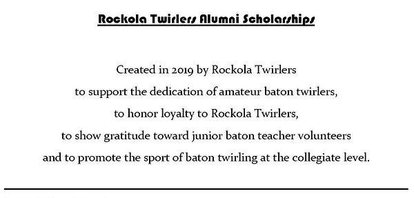 Alumni College Twirling Scholarship-webs