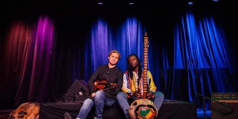 Jen Curtis and Diali Cissokho