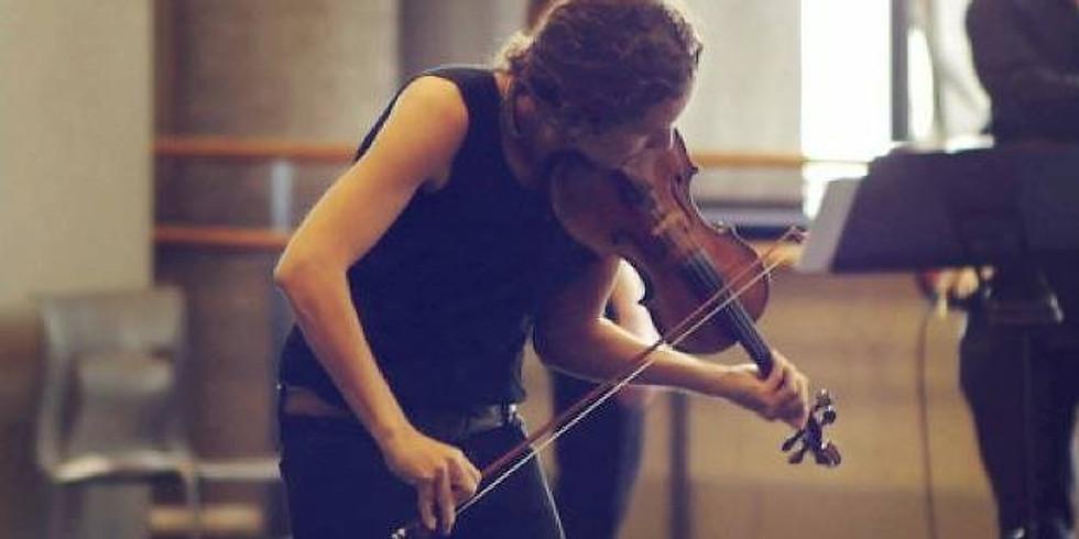 Jennifer Curtis with cellist Kirsten Jermé