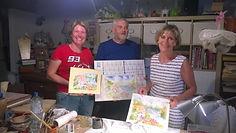 atelier aquarelle avec Yves - loc Mr Bul