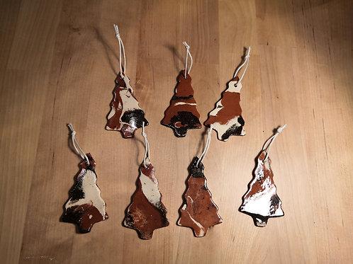 Unique : Lot de 7 sapins en terre mêlées