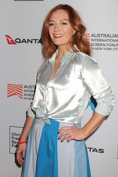 Alison McGirr at the New York Premiere of 'Ladies in Black' at the Australian International Screen Forum