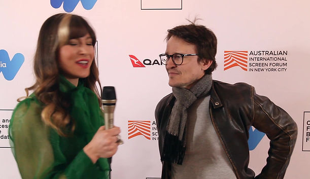 Damon Herriman at Australian International Screen Forum