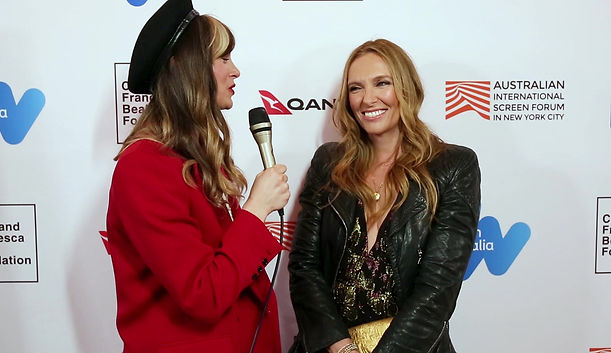 Toni Collette at Australian International Screen Forum