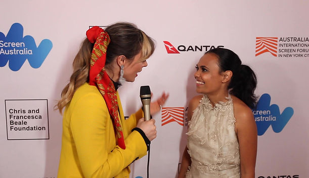 Miranda Tapsell at Australian International Screen Forum