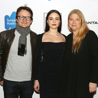 Damon Herriman, Aisling Franciosi & Bruna Papandrea at the Australian International Screen Forum