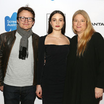 Damon Herriman, Aisling Franciosi & Bruna Papandrea at Australian International Screen Forum