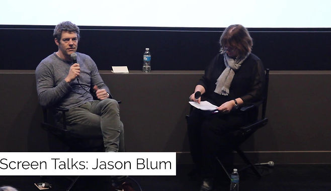 Jason Blum in Conversation with Jenny Cooney at Australian International Screen Forum