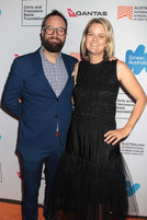 Khrob & Miranda Edmonds at the Australian International Screen Forum