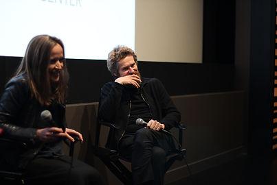 Jennifer Peedom and Willem Dafoe at the