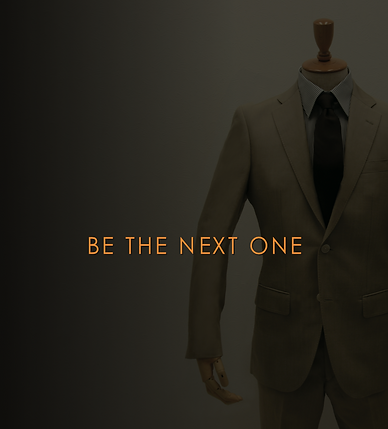 BE THE NEXT ONE