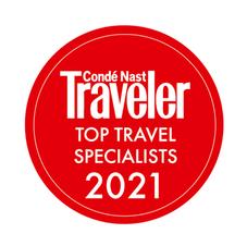 Condé Nast Traveler Top Travel Specialist 2021