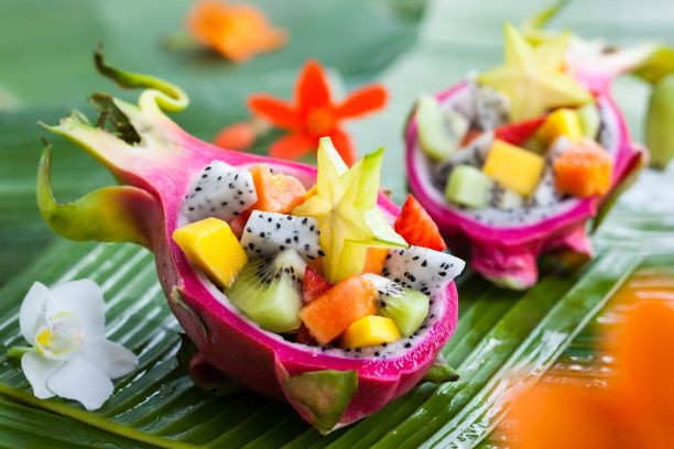 Tropical meal