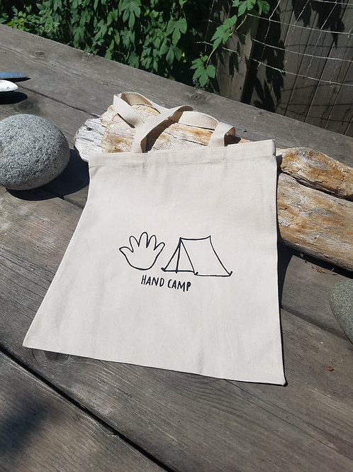 Hand Camp Tote