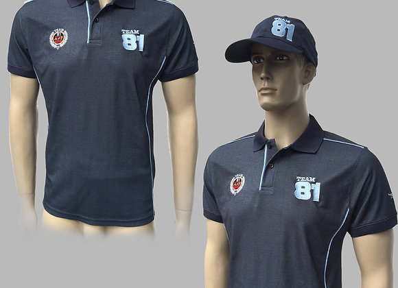 Polo Street TEAM81 Version Bleu Foncé