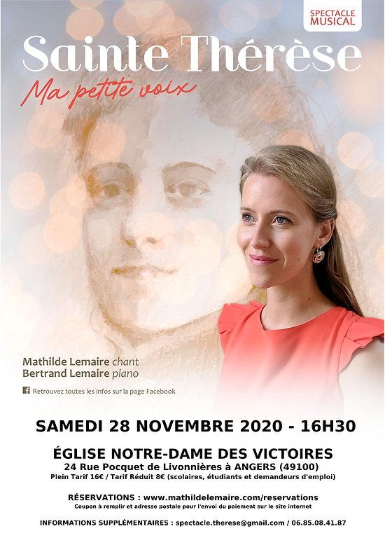 Affiche Thérèse Angers - 28.11.2020 - 16