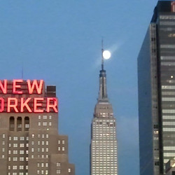mooning over the empire state