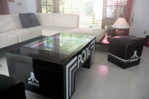 ATARI Pong Coffee Table Classic - Atari coffee table