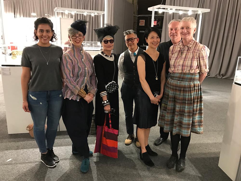 Pratt Design Show Jury - Stephanie Soto, Idiosyncratic Fashionistas, Amy Tam, Lynn Dana Loo, Evert deGraeve, Judy Geib