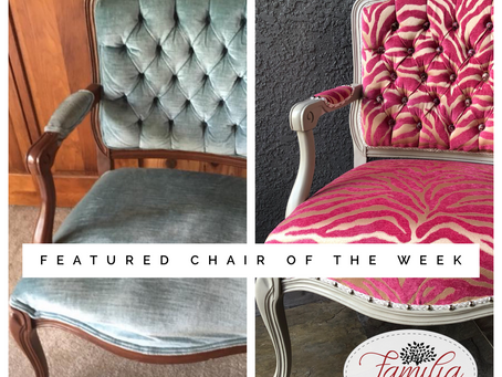 Featured Chair of the Week!