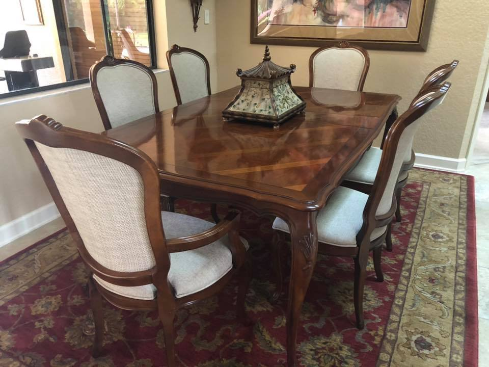 Dining Chairs Reupholstery