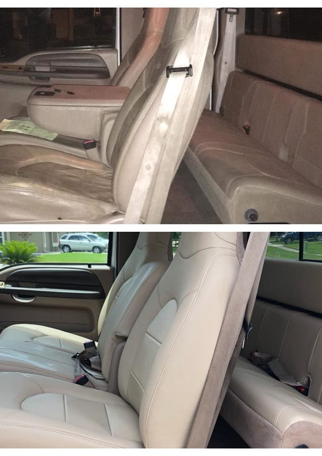 F-250 upholstery