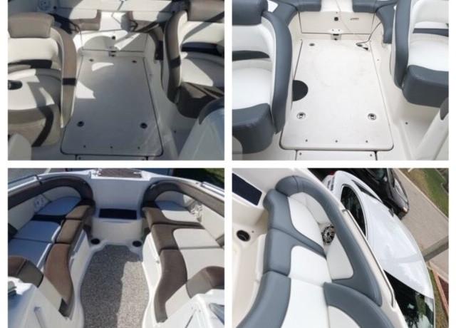Jet boat upholstery