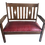 Thumbnail: Leather Antique Settee