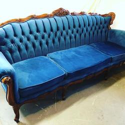 Antique Tufted Sofa