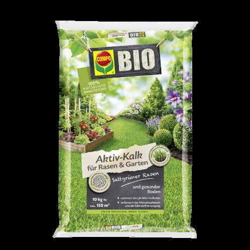 COMPO BIO Aktiv Kalk für Rasen und Garten 10kg