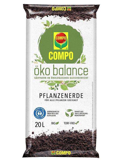COMPO öko balance Pflanzerde 20l