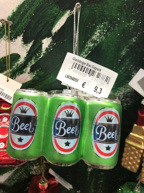Glashänger Bier-Sixpack