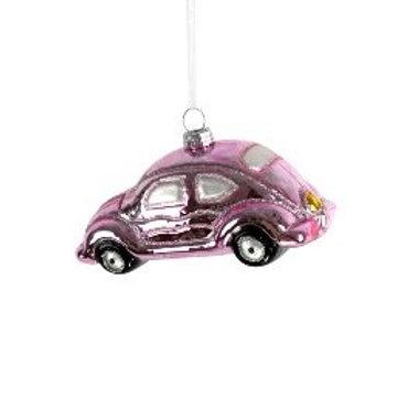 Glashänger Pink Car