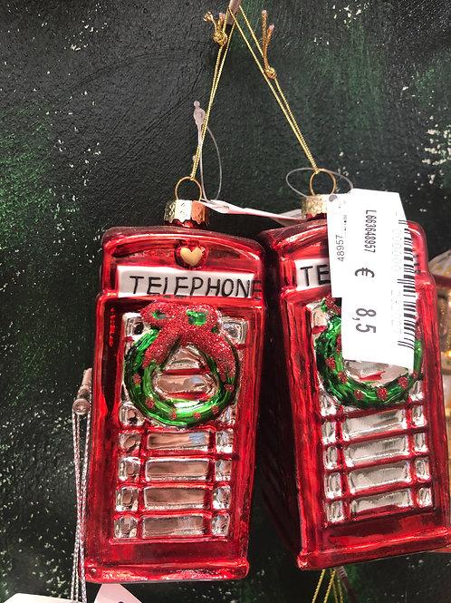 Glashänger Telefonzelle