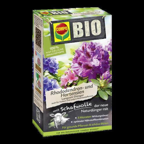 COMPO BIO Rhododendron- und Hortensien Langzeit-Dünger m. Schafwolle 2kg