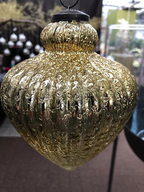 Zapfen Hänger gold