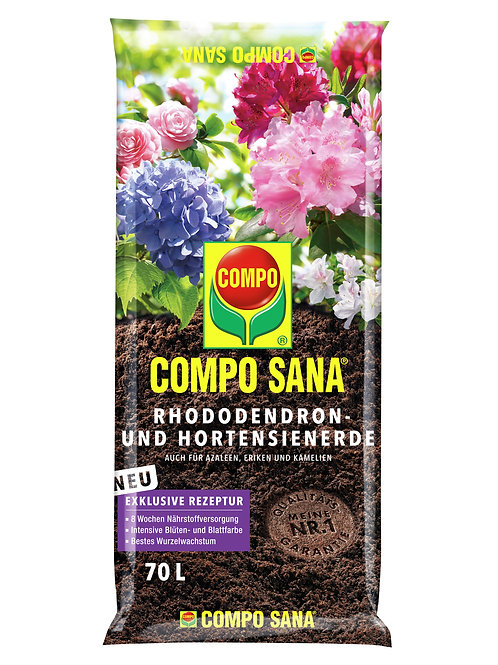 COMPO SANA Rhododendron-und Hortensienerde 70l