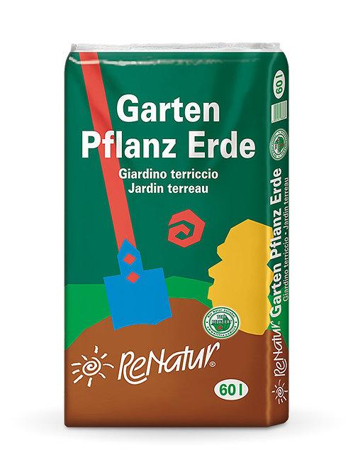 ReNatur Gartenpflanzerde 60l