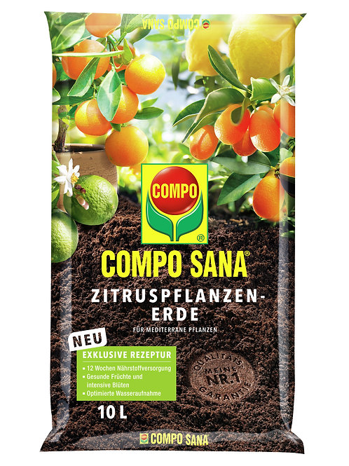COMPO SANA Zitruspflanzenerde 10l