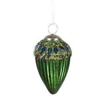 Glaszapfen grün