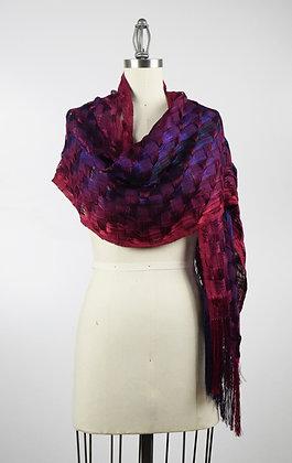 Raspberry scarf