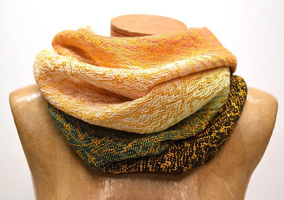 Golden Colorblock Cowl