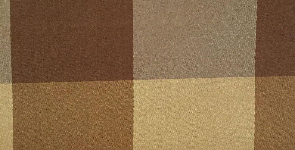 Shades of Golden Brown French Country Silk