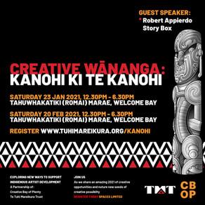 Creative Wananga: Kanohi ki te Kanohi