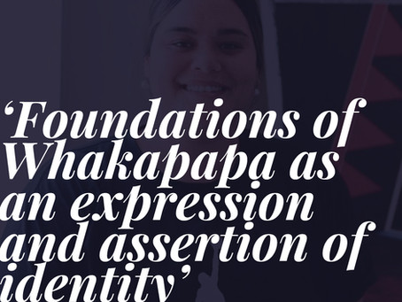 Foundations of Whakapapa