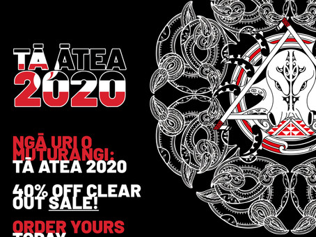 Nga Uri o Muturangi: Ta Atea 2020 Merch Sell Out